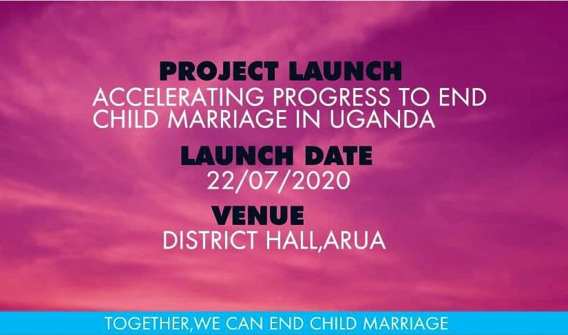 "MEMPROW set  to launch ""Accelerating Progress To End Child Marriage In Uganda"" project"